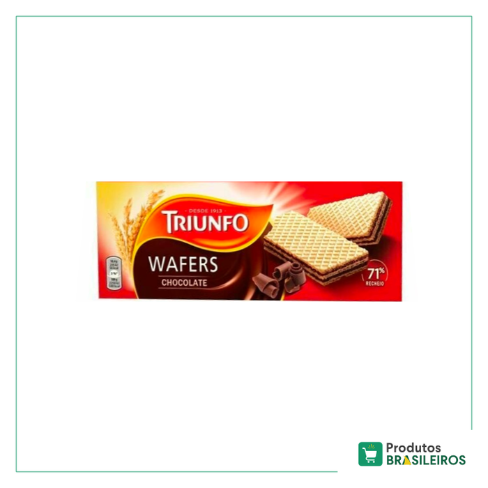 Wafer de Chocolate TRIUNFO - 146g