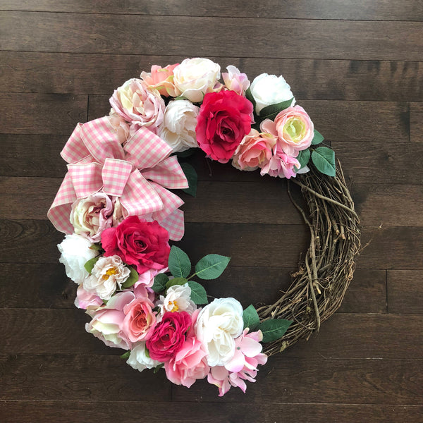 Valentines Day Wreaths for Front Door, Valentine Wreath, Valentines Day Decor, Wreaths for Front Door, Heart Shaped Decor, Valentines Day