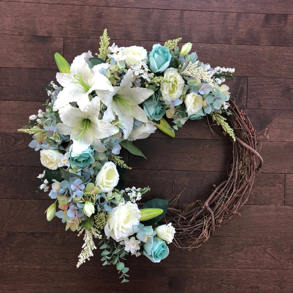 Easter Wreath, Easter Decor, Spring Wreaths for Front Door, Wreaths for Front Door, Front Door Wreath, Spring Door Wreath, Easter Wreaths