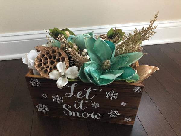 Christmas Centerpiece For Dining Table, Elegant Christmas Decorations, Christmas Centerpiece For Table, Christmas Decorations, Holiday Decor