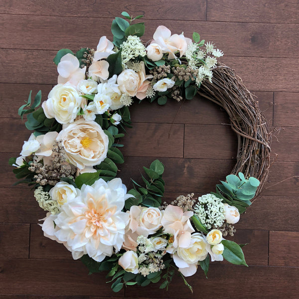 Spring Wreaths for Front Door, Year Round Wreath, Spring Wreath, Front Door Wreaths, Spring Door Wreath, Wreaths for Front Door, Door Wreath