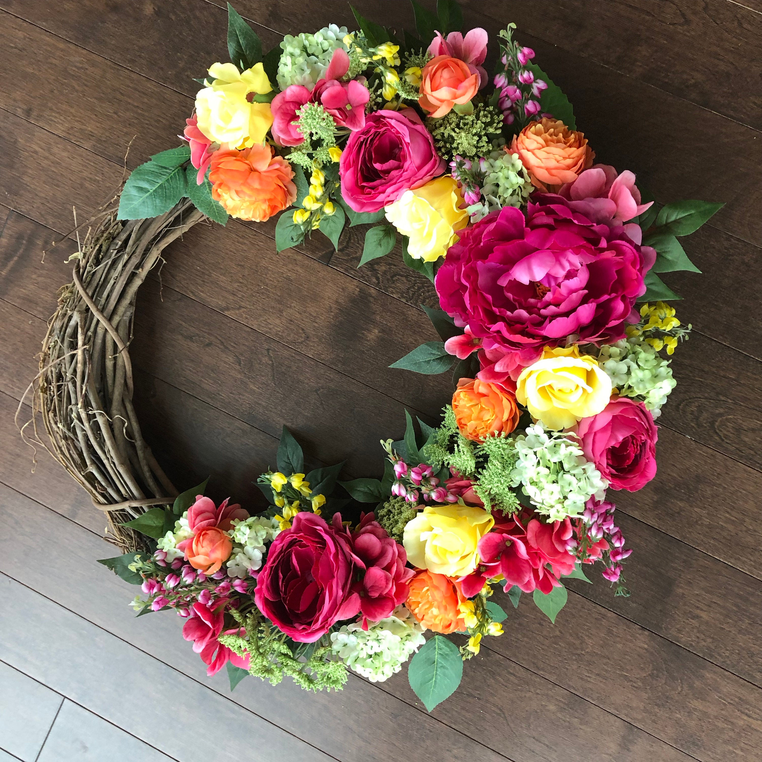 Exceptionnel ... Spring Wreath, Spring Wreaths For Front Door, Wreaths For Front Door,  ...