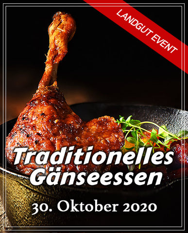 Traditionelles Gänseessen