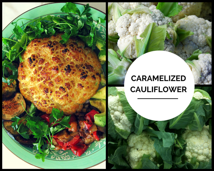 Caramelized Roasted Cauliflower