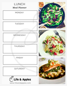 Meal Planner Printable - Free Download