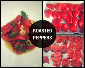 roasted peppers recipe | Life & Apples