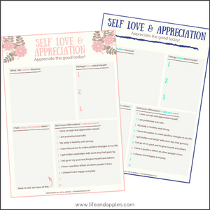 self love free printable
