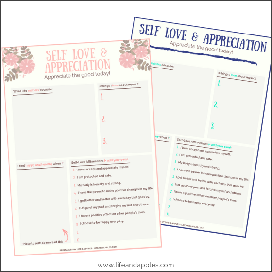 Self-Love - Free Printable