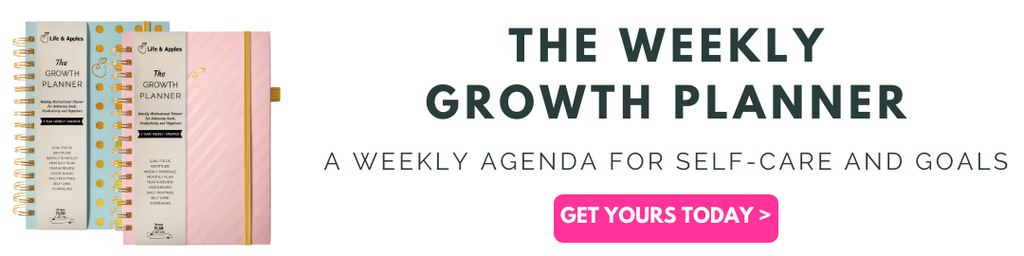 weekly growth planner