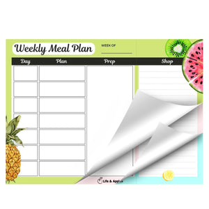 Wellness Planner + Meal Planning Pad