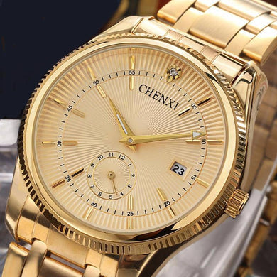 2018 Gold  Luxury Business Watch