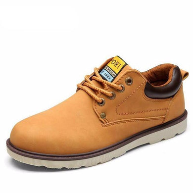 Hot Sale Casual Waterproof Leather Shoe