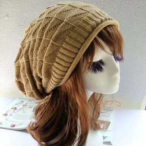 New Arrival Fashion Handmade Knitting Hats Female Winter Warm Crochet Caps Skullies For Lady Women Casual Beanies