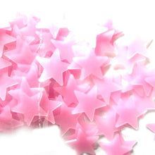 Lovely 100Pcs/Pack Luminous Stars Wall Stickers Home Glow In The Dark Stars For Kids Fluorescent Stickers Decoration