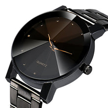 2017 Luxury Fashion Watches, Men and Women Crystal Stainless Steel Analog Quartz Watch