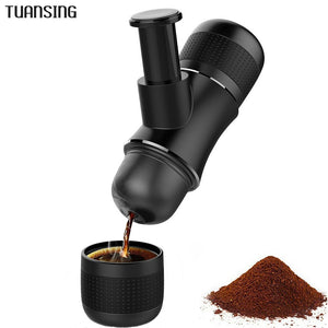 Portable Coffee Maker Handheld Manual Pressure Coffee Machine Mini Espresso Maker for Home Office Travel Outdoor