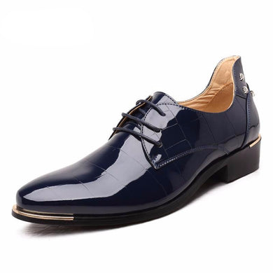 New Fashion PU Leather Casual Men Shoes
