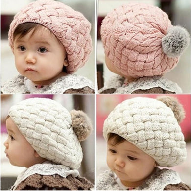 Fashion Baby Hat, Photography Props Beanie Knitted Cap