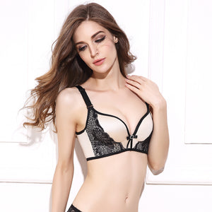 Push Up Bra Lace Bralette Adjusted Comfortable Wireless Bra