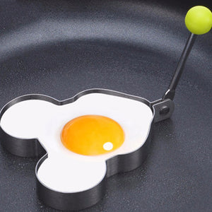 Helpful Stainless Steel Fried Egg Shaper egg Pancake Ring Mould Mold Kitchen Cooking Tools Fried Egg Shaper