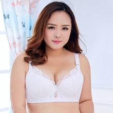 Thin Cup Large Size Lace Breathable Push Up Bra