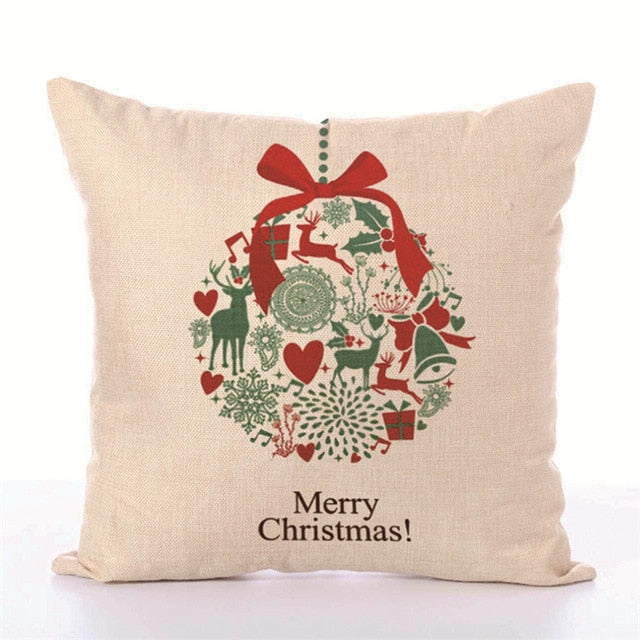 Christmas Decoration Merry Christmas Pillowcase
