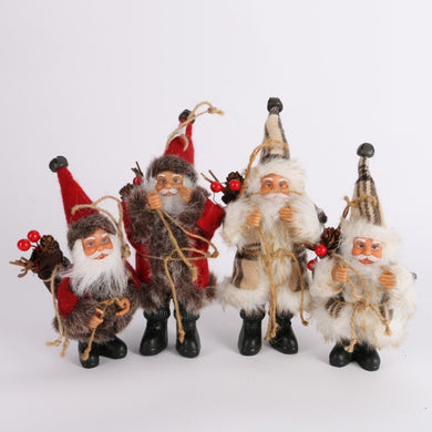 Exquisite Christmas Santa Claus for Christmas Tree Ornaments Decoration
