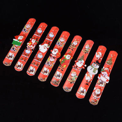 LED Christmas bracelet glowing bracelet Santa snowman