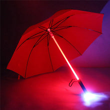 Creative 7 Colour Changing LED Light Waterproof Windproof Umbrella