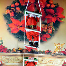 New Christmas Christmas Pendant Ladder Christmas Santa Claus Doll Tree New Year Decorations