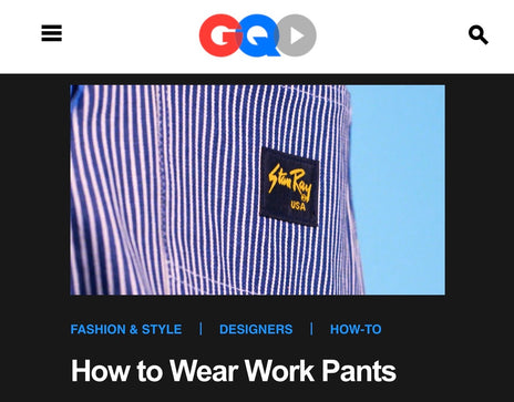 Stan Ray on GQ.com