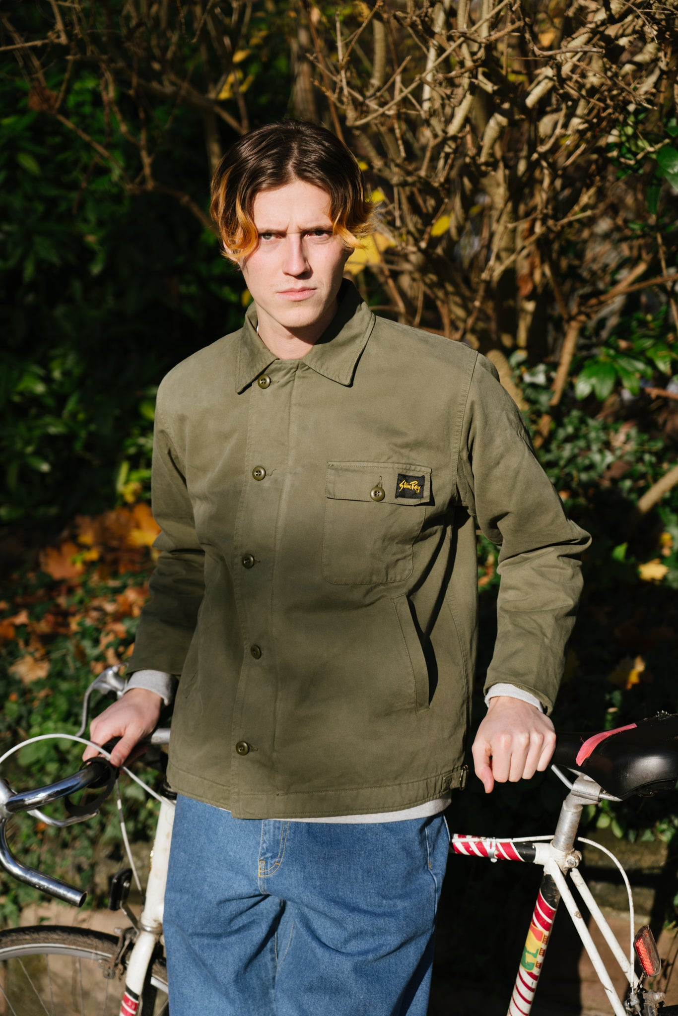 Stan Ray Military Twill A2 deck jacket