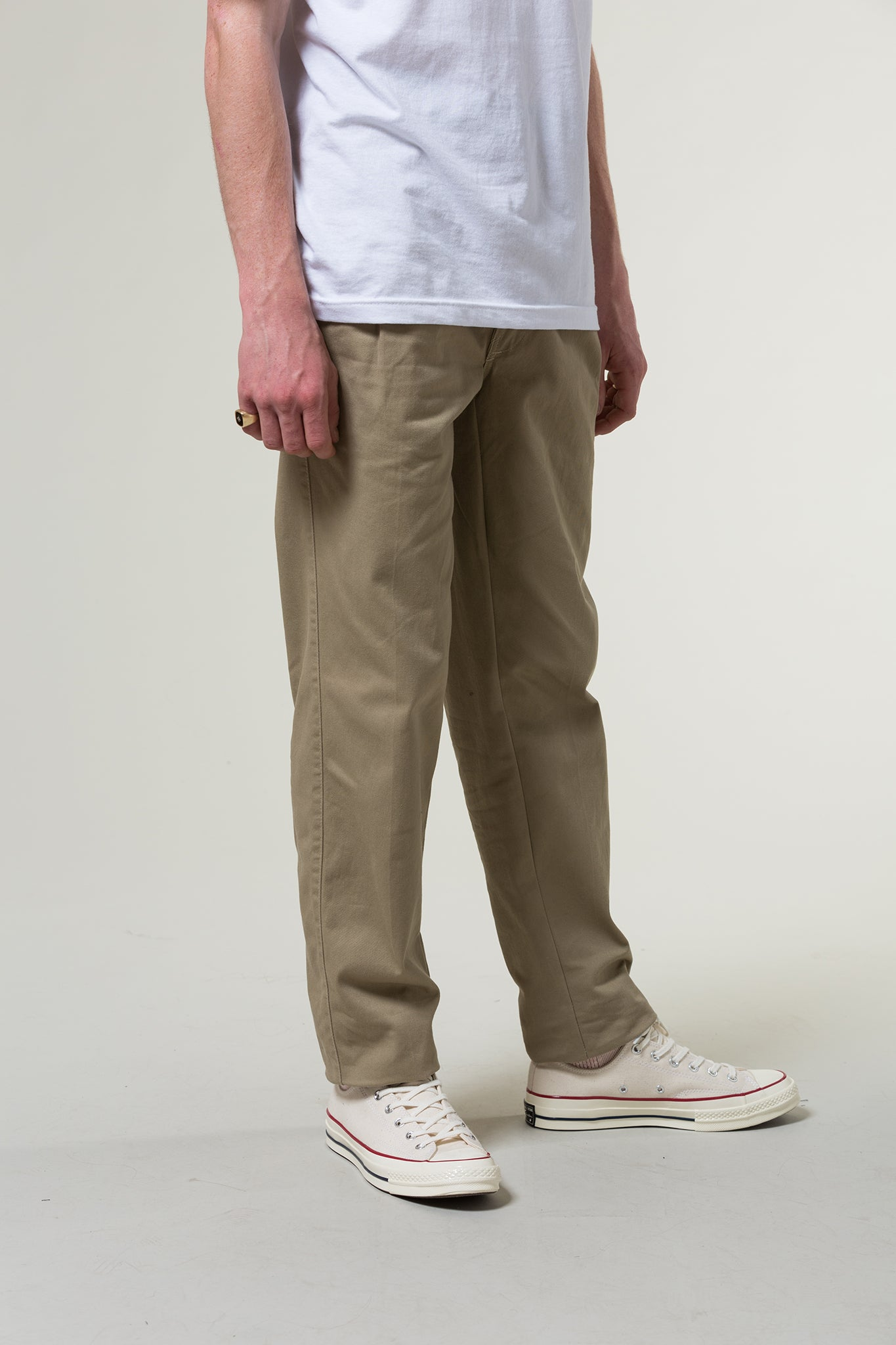 stan ray - pleated chino 2
