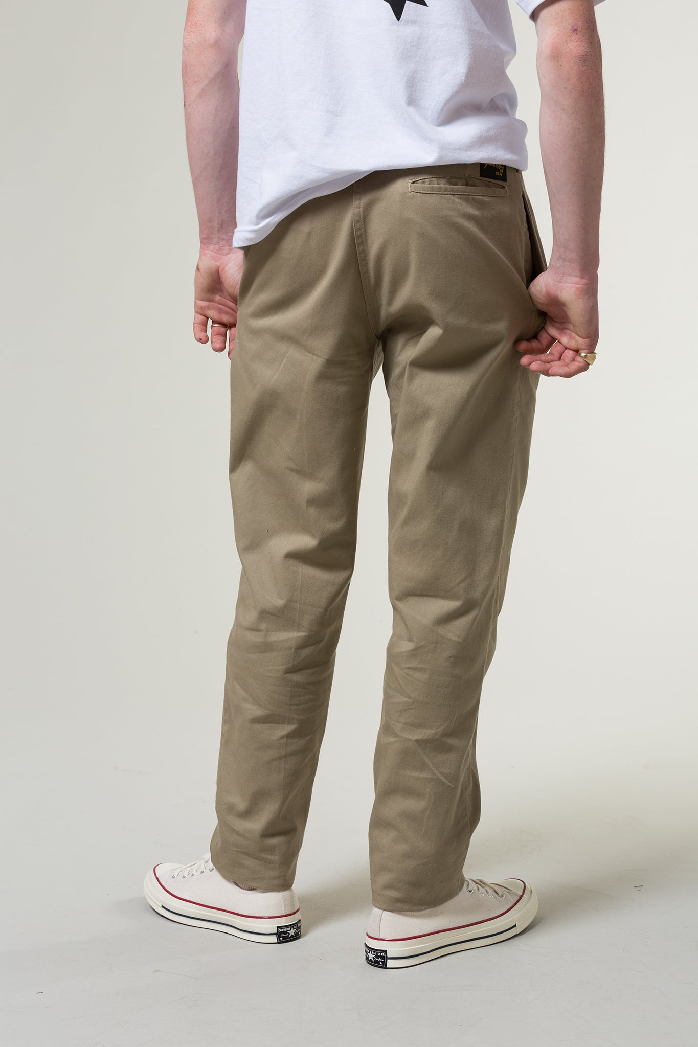 stan ray - pleated chino 3