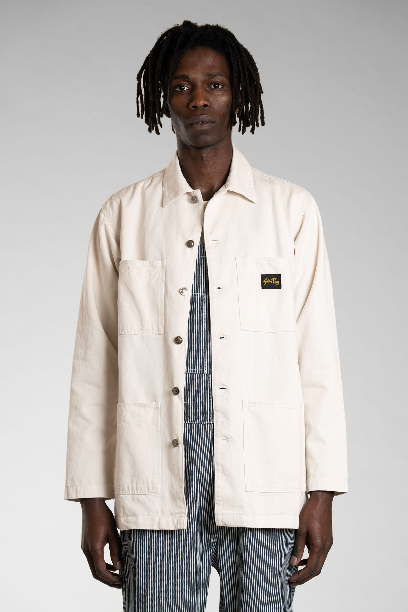 Stan Ray Shop Jacket - Natural Drill