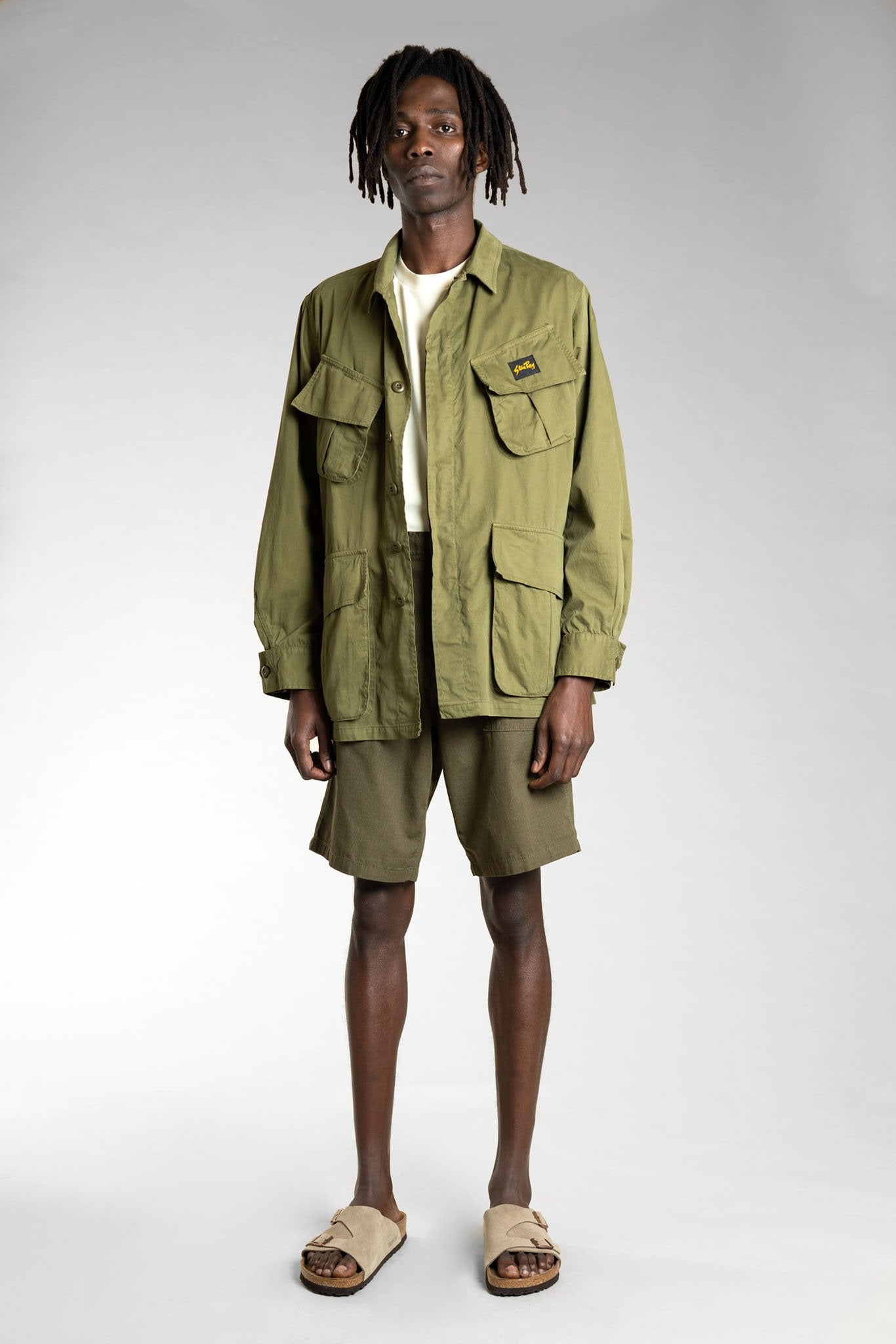 Stan Ray Fat Short & Tropical Jacket - Olive
