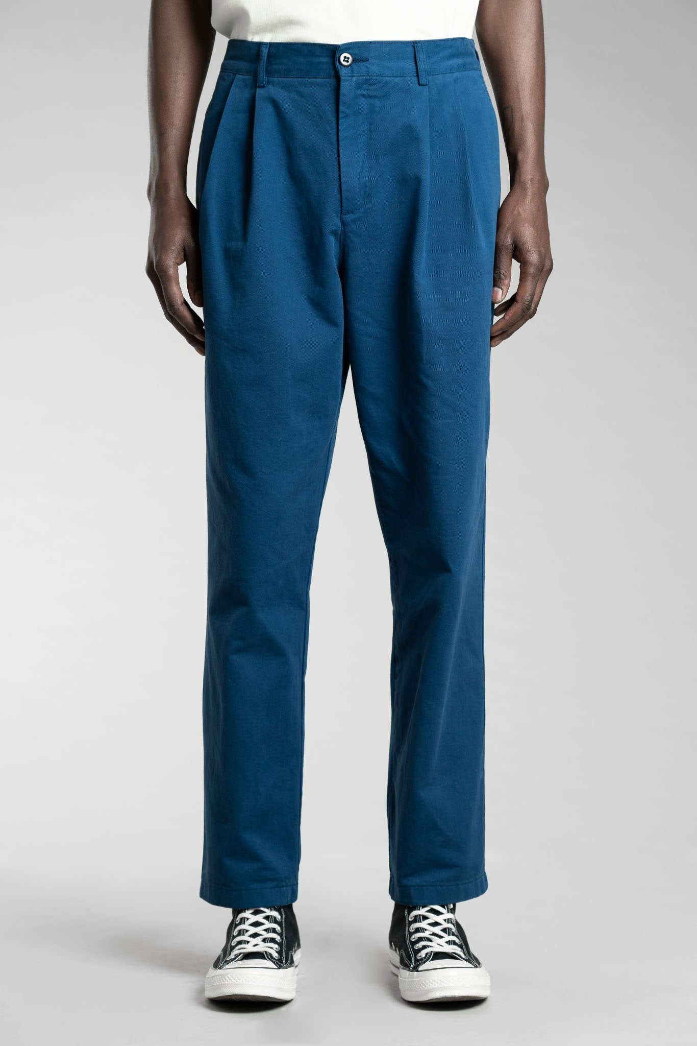 stan ray - pleated chino 1