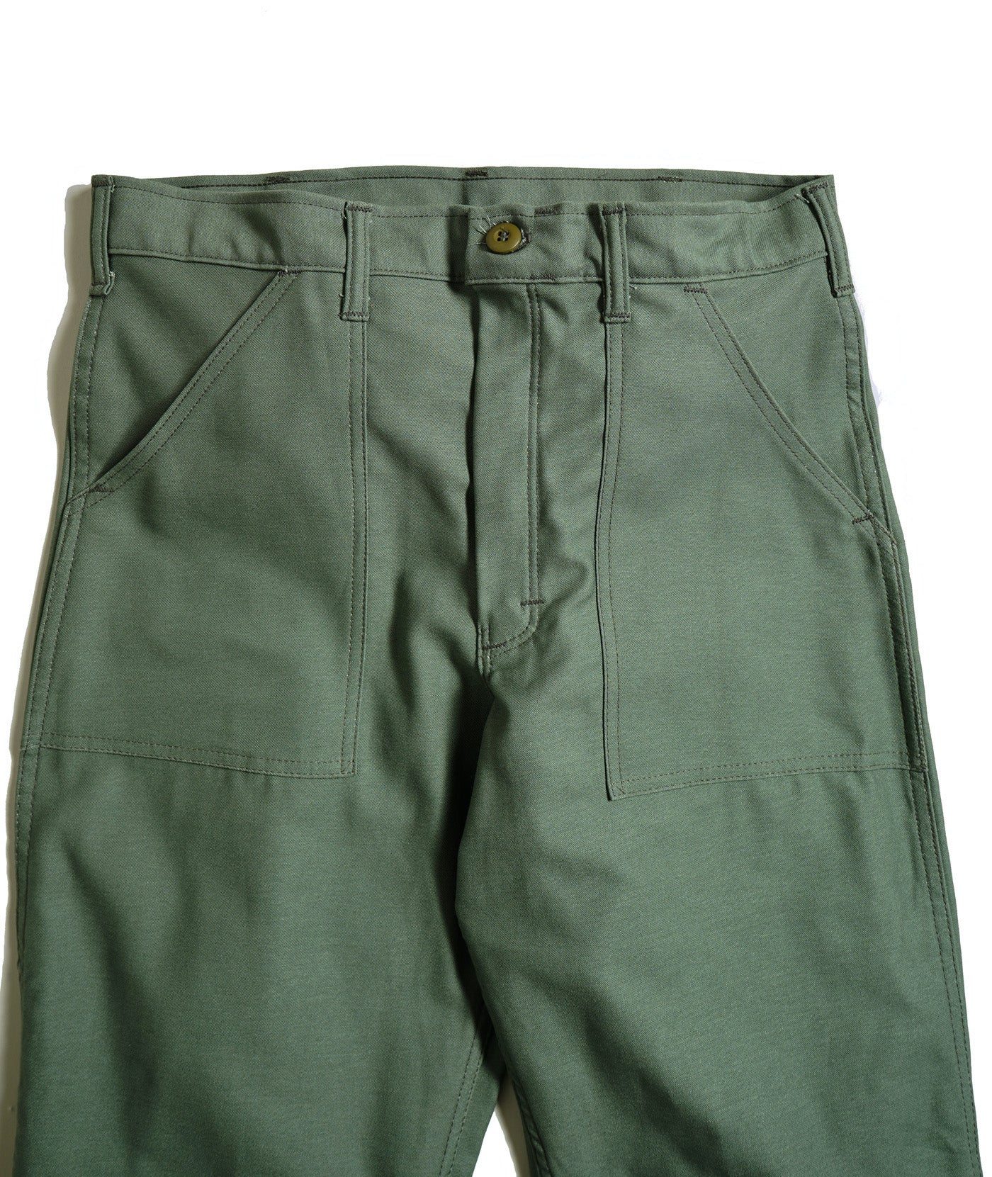 Stan Ray Fatigue pant front pocket detail