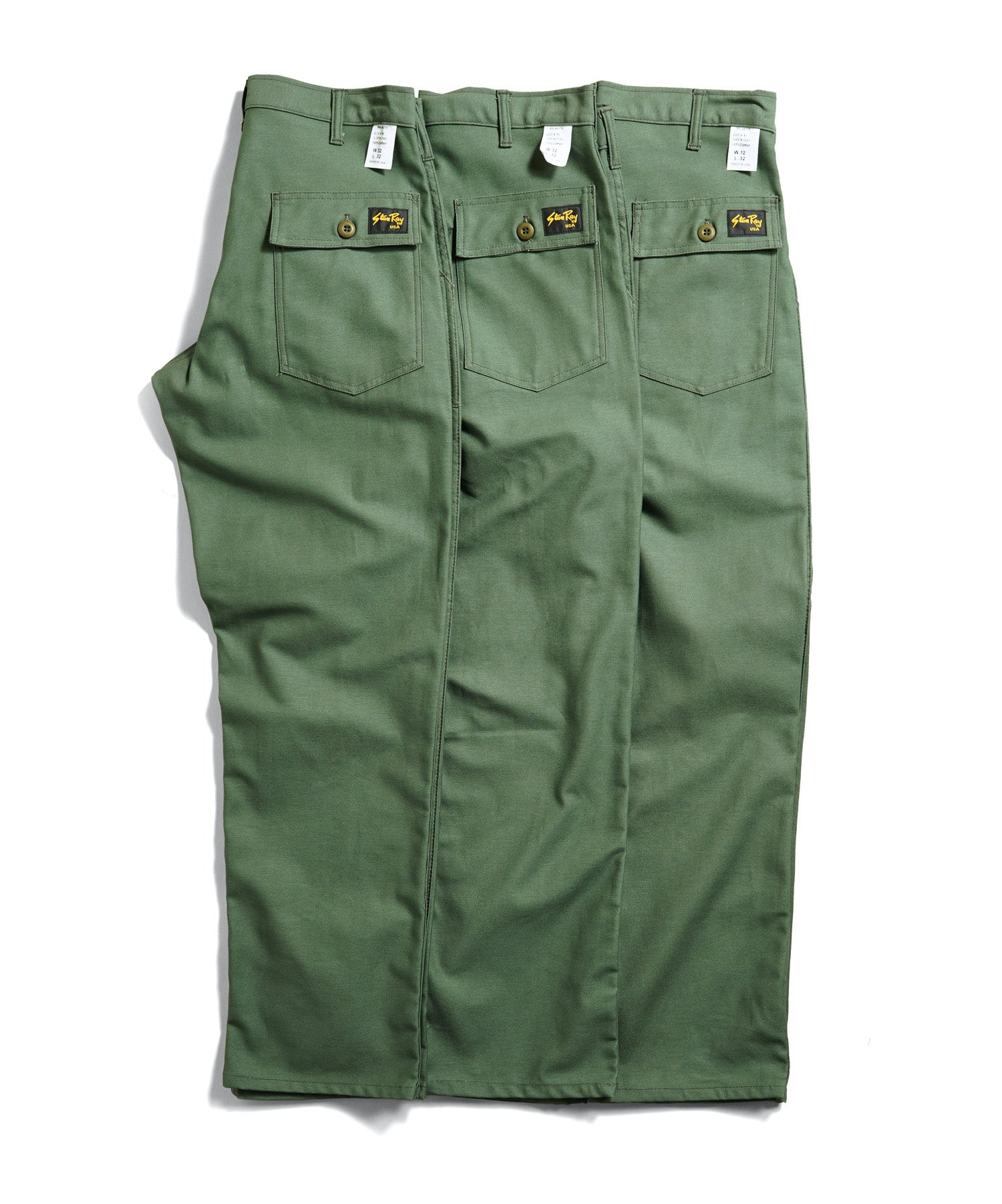 Stan Ray Olive Sateen Fatigue Pants