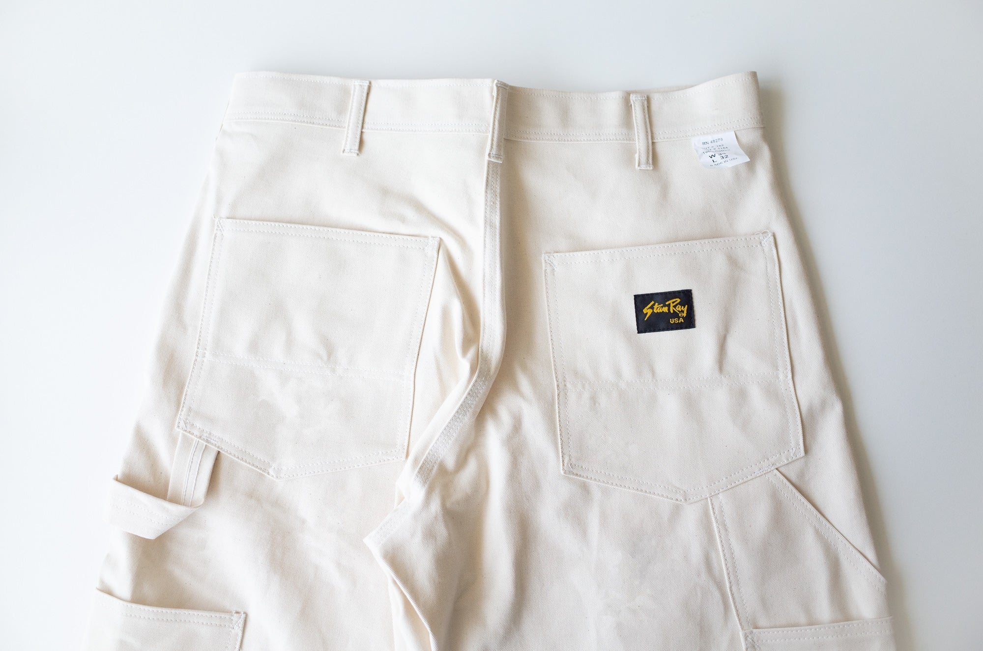 Stan Ray OG Painter Pants - back pockets