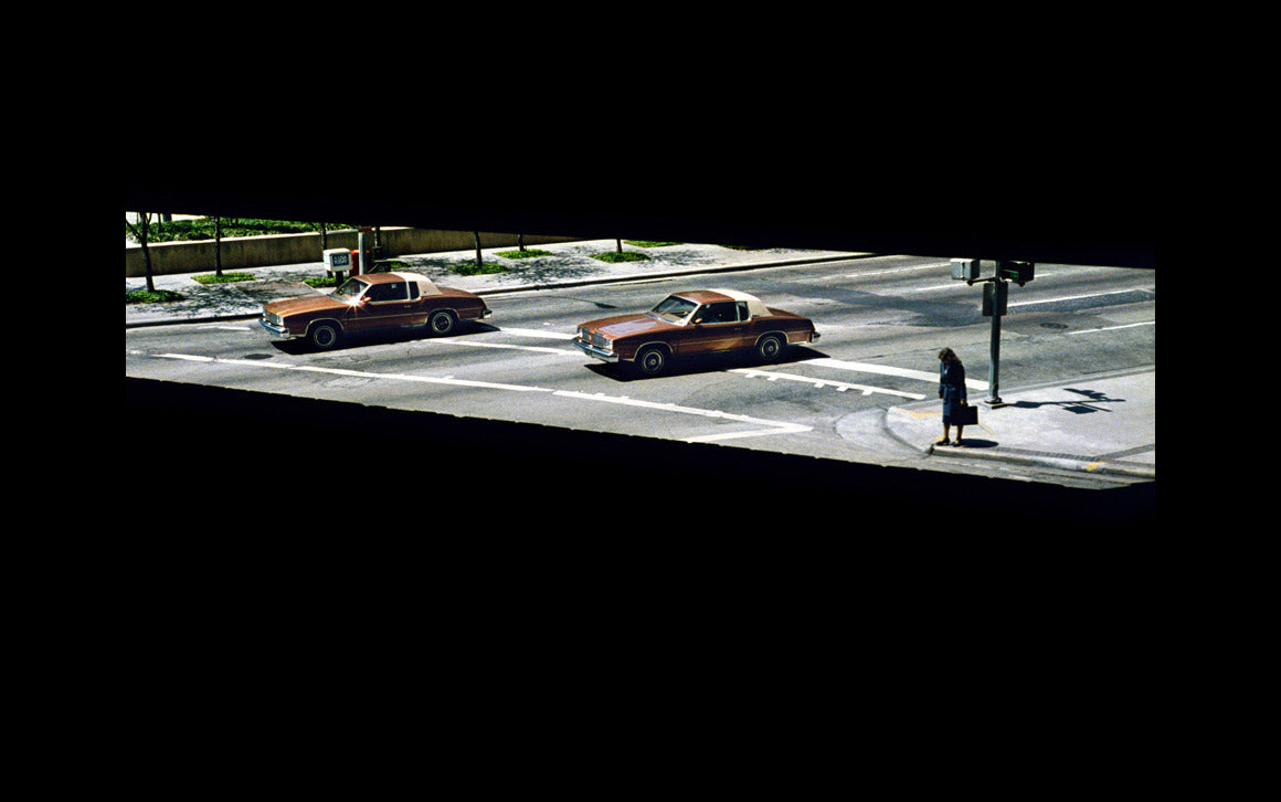 Wim Wenders Two Cars and a Woman Waiting - stan ray
