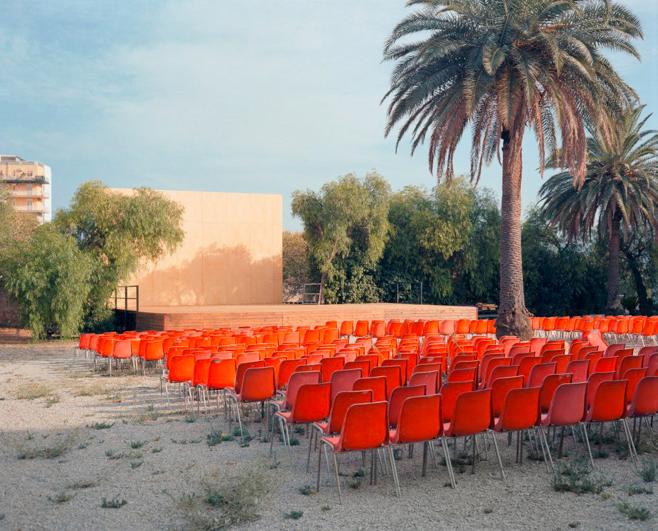 Wim Wenders open air screen - stan ray