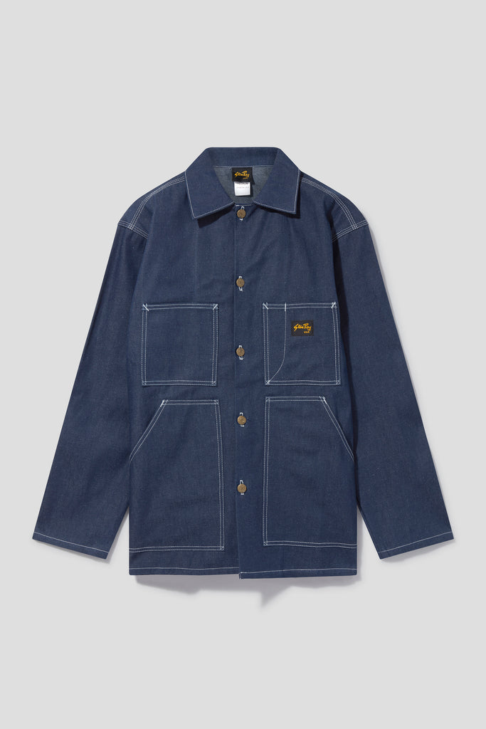 Shop Jacket (Denim) - Stan Ray