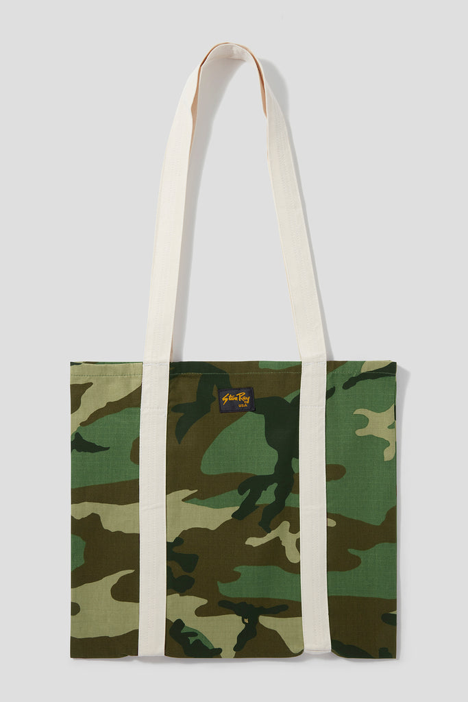 Tote Bag (Woodland Camo Ripstop) - Stan Ray