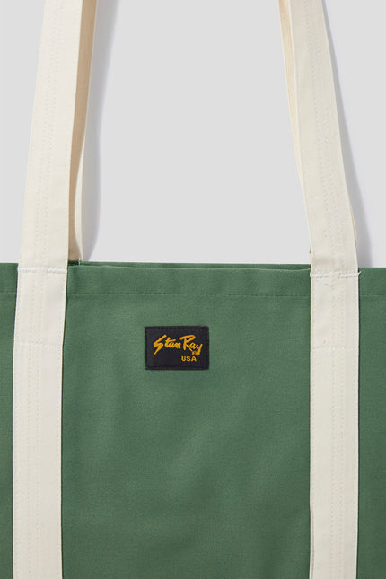 Tote Bag (Olive Sateen) - Stan Ray