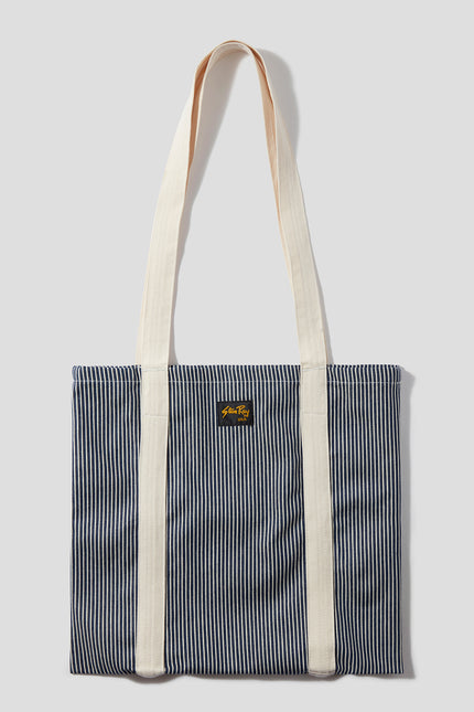 Tote Bag (Hickory Stripe)