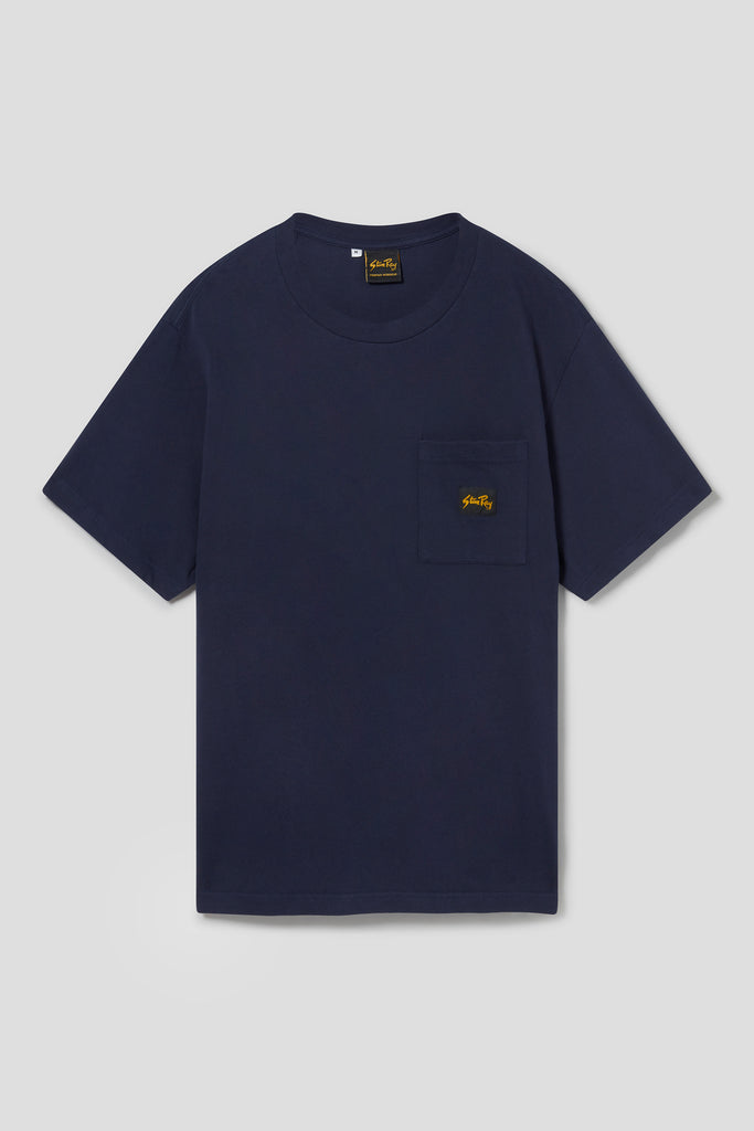 Patch Pocket Tee (Navy) - Stan Ray