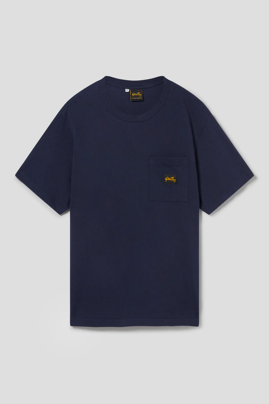 Patch Pocket Tee (Navy)