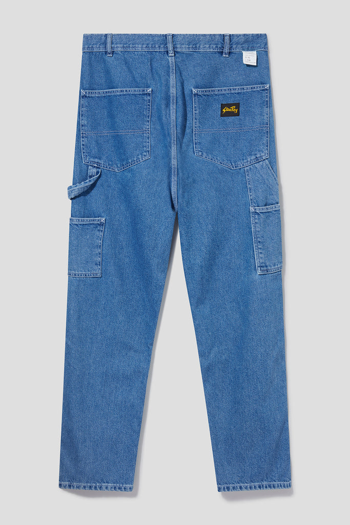 OG Painter Pant (Vintage Stonewash Denim) - Stan Ray