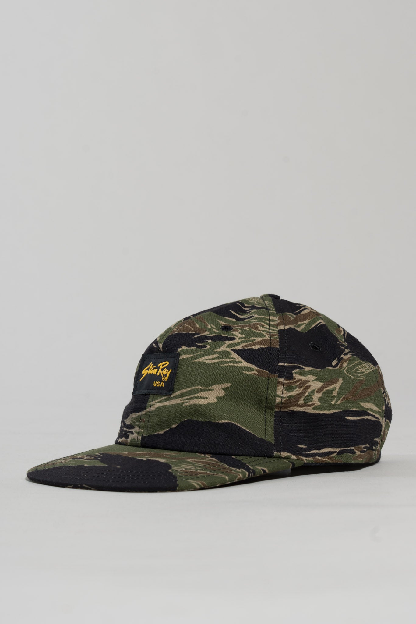 Ball Cap (Green Tigerstripe Ripstop) - Stan Ray